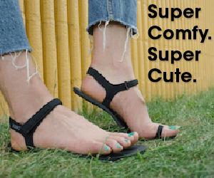 NEW! Jessie sandal for women. Super comfy. Super cute. Super fun.