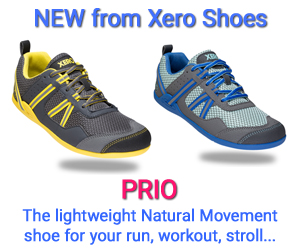Prio - minimalist running fitness shoe from Xero Shoes
