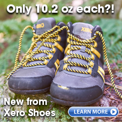 DayLite Hiker - lightweight zero drop minimalist hiking boot from Xero Shoes